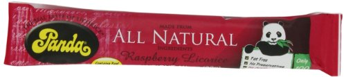 Panda All Natural Raspberry Licorice Bar, 1-1/8-Ounce Units (Pack of 36) ()