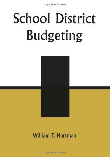 School District Budgeting 2nd (second) Edition by Hartman, William T. published by R&L Education (2003)