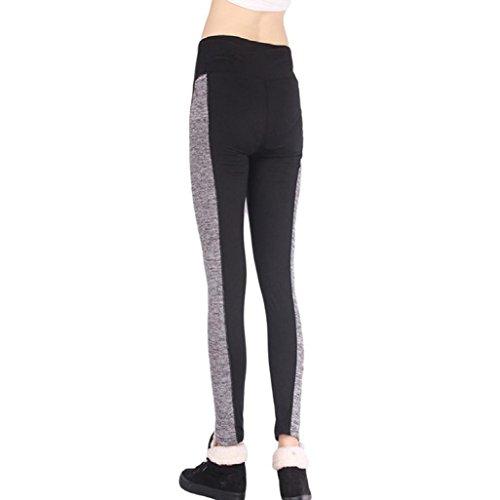Jambières Pantalon Pantalons Yogogo Femmes Yoga Black Sport Athlétique Gymnastique De Un Entraînement Aptitude AP8xRw1xq5