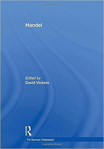 Handel (The Baroque Composers)