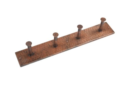 Quadruple Robe Hook in Oil Rubbed Bronze Finish by Premier Copper Products