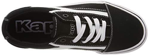 Sneaker 1110 Chose Unisex Sun black adulto Kappa Eu white Schwarz qEaRw8xx