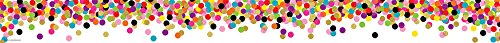 Teacher Created Resources (5609) Confetti Straight Border Trim Bulletin Board Decorations