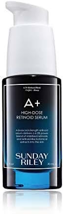 Facial Treatments: Sunday Riley A+ High-Dose Retinol Serum