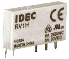 SPDT 24V 6A PCB IDEC RV1H-G-D24 POWER INTERFACE RELAY