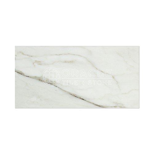 (Calacatta Gold (Italian Calcutta) Marble 6 X 12 Subway Field Tile,)