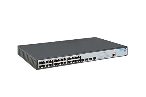 - HP JG926A 1920-24G-PoE+ (370W) Switch