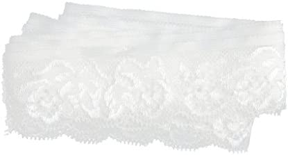 レースリボン レーストリム トリム 弾性 レース ブライダル DIY装飾 結婚式 工芸品 縫製 手芸材料 工芸