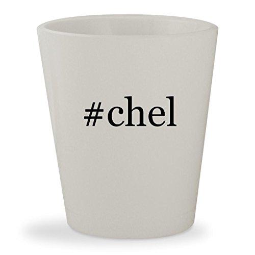 Ix Chel Costume (#chel - White Hashtag Ceramic 1.5oz Shot Glass)