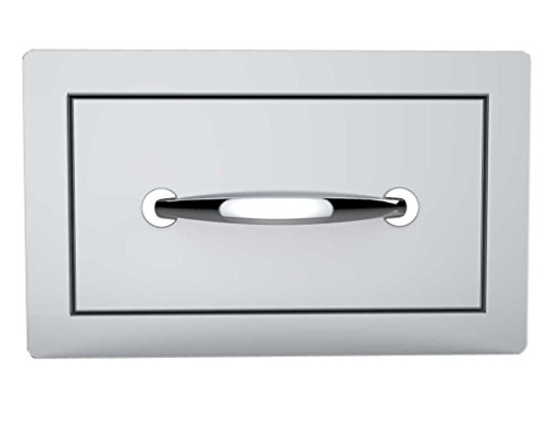 SUNSTONE B-SD6 14-Inch Flush Single Access (Steel Single Drawer)