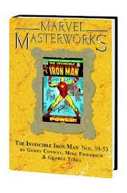 - MMW Invincible Iron Man Volume 8 DM Variant Edition Cover #194 - limited to 800 copies (Marvel Masterworks)