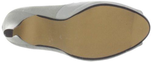Lunar Flr052 - Zapatos de tacón de material sintético mujer Plata - Silver