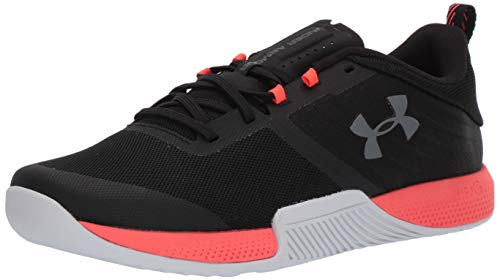 - Under Armour Men's TriBase Thrive Cross Trainer, Black (005)/Beta Red, 10 M US