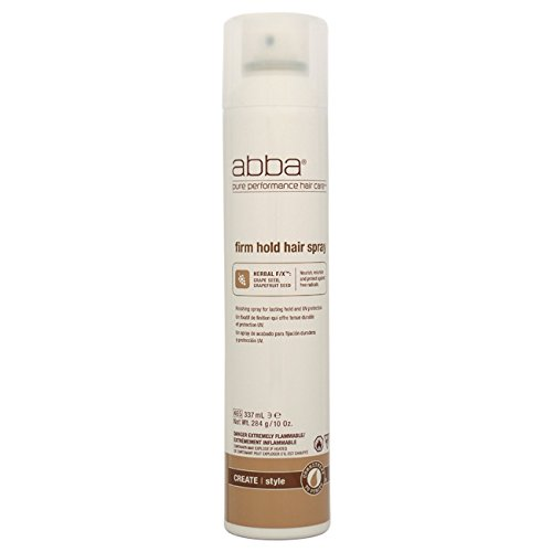 ABBA Firm Hold Hair Spray, 10 Ounce