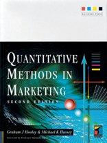 Quantitative Methods in Marketing