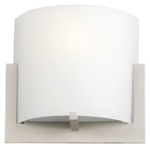 Forecast Bathroom Bath Light - Philips Forecast F541336 Bow Bath Light, Satin Nickel