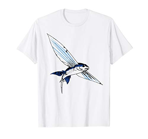 Fish Flying T-shirt - Flying Fish T-Shirt