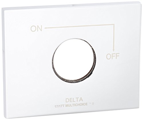 Delta RP62958 Vero Escutcheon and Gasket, Chrome - Escutcheon Gasket
