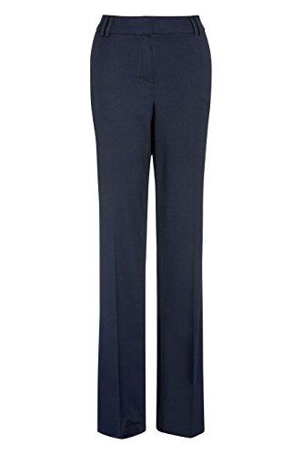next Mujer Pantalones De Traje Holgados Estilo Formal Ejecutivo Azul Marino