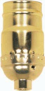 Satco Aluminum Standard Keyless Socket - 801669