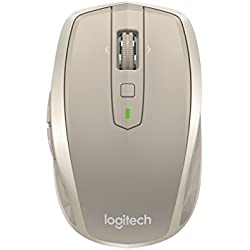 Logitech MX Anywhere 2 Wireless Mobile Mouse, Long Range Wireless Mouse, Stone  (910-004968)
