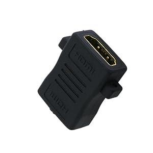 PLANEX HDMI延長用アダプタ (フラットタイプ) PL-HDMI-FFF