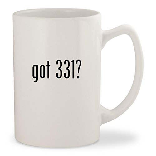 got 331? - White 14oz Ceramic Statesman Coffee Mug Cup