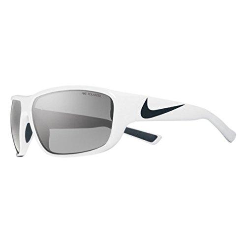 Price comparison product image Nike Grey Polarized Lens Mercurial 8.0 P Sunglasses,  White / Black