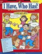 - I Have, Who Has? Gr. 5-6 Language Arts