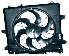 TYC 621070 Ford Mustang Replacement Radiator/Condenser Cooling Fan Assembly