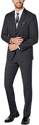スーツ メンズ 大きいサイズ 上下セット ストライプ 紳士服 結婚式 夏