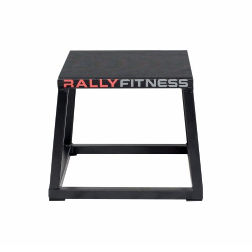 Rally Fitness Heavy Duty Plyometric Box 12""