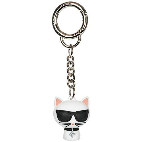 Karl Lagerfeld women Choupette keychain bianco