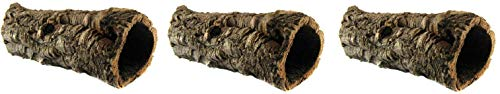 ((3 Pack) Zoo Med Natural Cork Bark Round, Small)