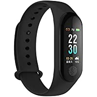 Mi 3 Band compitable lMobivax Upgraded M3 Plus Smart Activity Fitness Tracker Band | OLED Touch Display | Long Battery Life | Heart Rate Monitoring