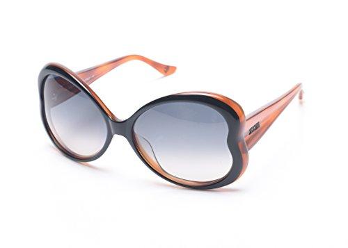 Moschino Women's Heart Shaped Oversized Sunglasses - Moschino Sunglasses