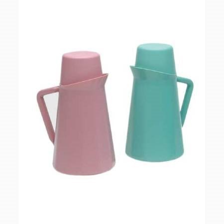 Pitcher W/CpCover 1Qt Rose - Item Number 16110 - 12 Each / Case - Dusty Rose