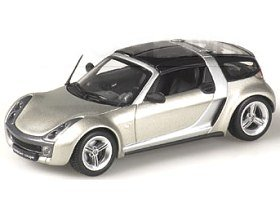 Model Smart Roadster Coupe (1:43 scale in Grey) ()