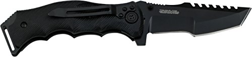 MTech USA Xtreme MX-A805 Series Spring Assist Folding Knife, Tanto Blade, 5-Inch Closed