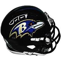 $84 » Justin Tucker Autographed Baltimore Ravens Mini Speed Helmet - Hand Signed & JSA Authenticated