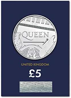 Fevs 2020 Queen Rock Band Certified Royal Mint BUNC Coin Change Checker