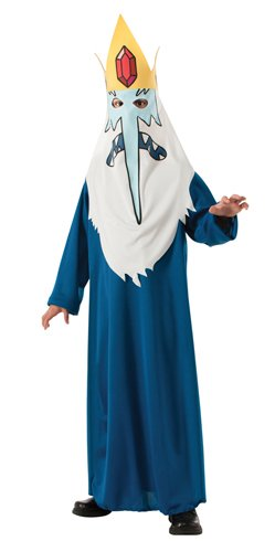 Adventure Time Toddler Costume (Adventure Time Child's Ice King Costume, Medium)