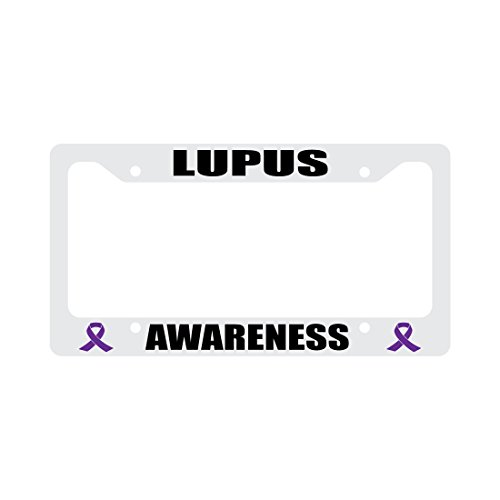 lupus license plate frame - 4