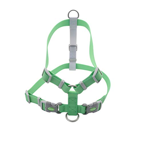 Coastal Pet Pro Waterproof Dog Harness, Lime, Large, 1