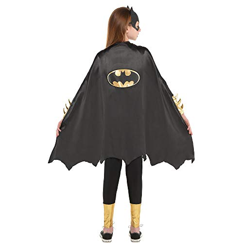 Suit Yourself Batgirl Cape Halloween Costume Accessory for Girls, Batman, One Size -
