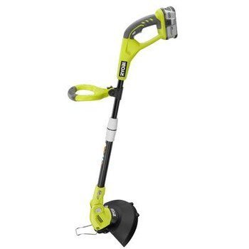 Factory-Reconditioned Ryobi ZRP20021 One Plus 18V 12 in. Cordless Lithium-Ion Straight Shaft String Trimmer/Edger by Ryobi by Ryobi