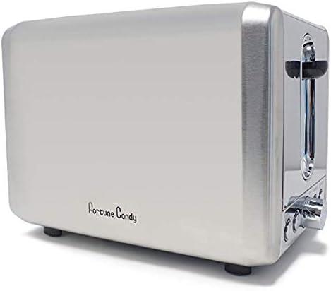 Fortune Candy KST009 2 sneetjes Toaster Bagel Toaster met Extra Brede Slot Hoge Lift Hanger Brood Maker