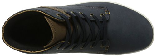 GTX Hautes Baskets London II Navy Bleu Homme Brown Lowa QC fBFpAZq