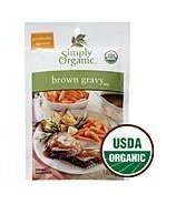 Simply Organic Brown Gravy Mix 1 Ounce (Pack of 3) (Gravy Organic Brown Simply)
