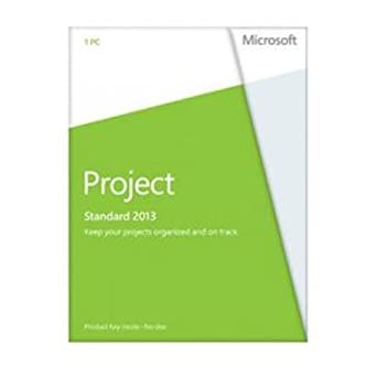 MICROSOFT Project Standard 2013 32/64-bit - License - 1 PC / 076-05068 /